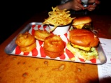 Burgers and Trimmings - Meat Liquor, London UK