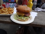 Lucky Chip Burger - Netil Market, London UK