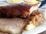 BBQ Plate, Fox Brothers BBQ, Atlanta GA