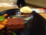 Flour-less Chocolate Brownie, Husk, Charleston, SC