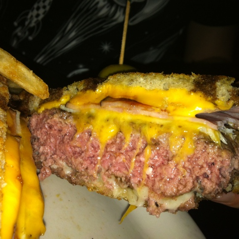 Meatpacker Melt, Vortex Bar and Grill, Atlanta, GA