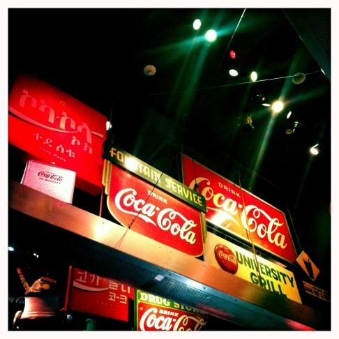 All the Coca Cola, Atlanta GA